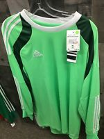 New Adidas Onore 14 Long Sleeve Green Goalkeeper Jersey Size XL NWT