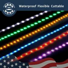 2/4/8/10/20x 60CM Flexible 2835 SMD 30 LEDs Strip Light Car Boat Turn Signal 12V