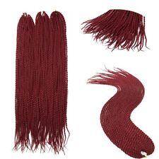 24'' 20pcs Synthetic Twist Crochet Braid Dreads Dreadlocks Afro Hair Extensions