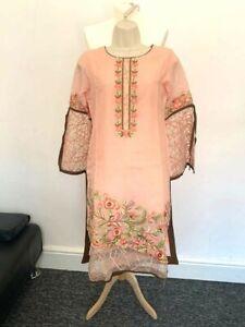 Brand New Pakistani Asian Style Casual Wear Dress with Dupatta 3 pcs