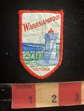 Vintage Lighthouse WARRNAMBOOL VICTORIA Australia Souvenir Patch 99NL