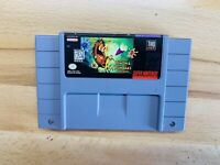 Timon & Pumba's Jungle Games SUPER NINTENDO SNES GAME Tested + Working Authentic