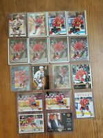 Chris Chelios Lot of 17 Cards - Great Condition! Chicago Blackhawks