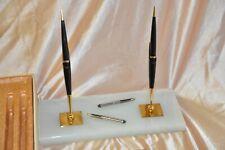 Vintage Dual Parker  Pen Desk Set In Box