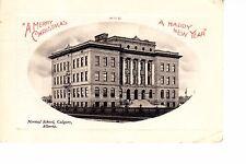 Calgary, Alberta  Normal School 1912  Merry Christmas & Happy New Year