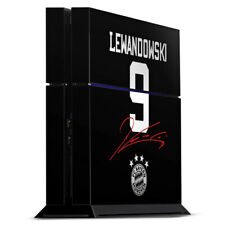 Sony Playstation 4 PS4 Folie Aufkleber Skin Lewandowski #9 FC Bayern München