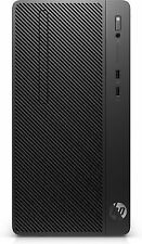 HP 4nu20ea#abd 290 G2 3.6ghz I3-8100 Micro Tower 8th Gen Intel Core I3 Black