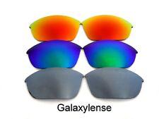 Galaxy Replacement Lens Oakley Half Jacket 2.0 Sunglasses Titanium&Green&Red