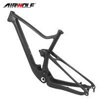 T1000 Carbon Fiber mtb 29er Full Suspension Frame Bike Bicycle Frameset 142*12mm