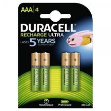 4x NiMH-Akku Micro AAA 1,2V 850mAh DURACELL Rechargeable Duralock Accu Blister