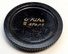 Canon Plastic Rear lens cap cover for series 6 VI filters screw in 44mm male