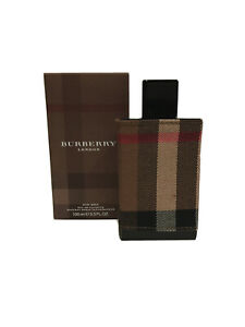 BURBERRY LONDON FABRIC EAU DE TOILETTE SPRAY 100ML FOR MEN - FREE SHIPPING