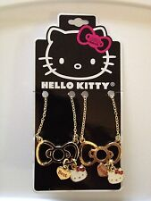 Hello Kitty by Sanrio Glitter Bow Best Friends BFF Pendant Necklaces Set of 2