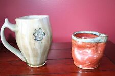 Berea College pottery  lot of 2 pieces