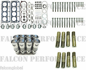 Chevy/GMC 5.3/5.3L Head Gaskets Set+Bolts+AFM DOD Lifters Kit 2005-09 +push rods