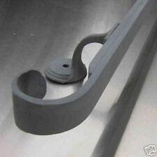 9 ft wrought iron exterior outdoor handrails railings split in 2 pieces