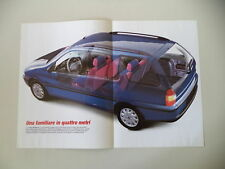 - POSTER ANNO 1997 - FIAT PALIO WEEKEND