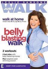Leslie Sansone Just Walk: Belly Blasting Walk NEW R4 DVD