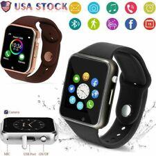 Multiple Bluetooth Smart Watch Camera Waterproof PhoneMate AndroidSamsung iPhone