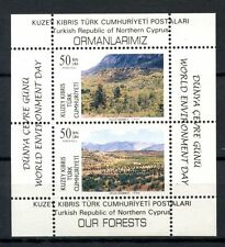 Turkish Cypriot Posts 1996 SG#MS428 World Enviroment Day MNH M/S #A35836