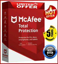 McAfee Total Protection 2020 Antivirus ✅ 5 Devices 5 Year ✅ Mac / Mobile / Pc 🔑