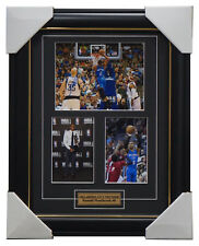 Russell Westbrook Oklahoma City Thunder Signed  Photo Collage Framed - NBA MVP