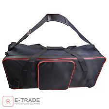 Professional Photo Studio Flash Strobe Lighting Light Stand Carry Case Bag / EU