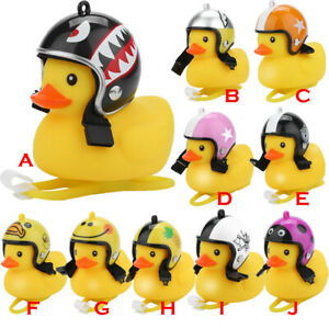 Mini Light Shining Rubber Duck Bell Bike Bicycle Bells&Cartoon Motocycle Handleb