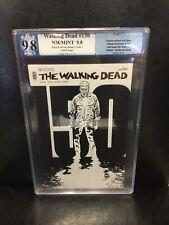 Walking Dead 150 Pgx 9.8 Black And White Variant Like Cgc