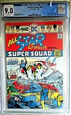 All Star Comics 58  CGC 9.0  1st Power Girl  & All-Star Squadron Hot Bronze KEY!