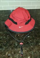 Nike Team Dry Bucket Hat football Adult Small Crimson Alabama Combat Coaches Hat