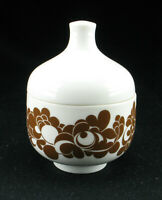 """Rosenthal Porzellan Zuckerdose """"plus"""" Karnagel - 60s porcelain suger dish"""
