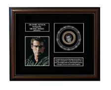 NEW! STARGATE SG1 - DANIEL JACKSON FRAMED GOLD COIN DISPLAY - Limited Edition!