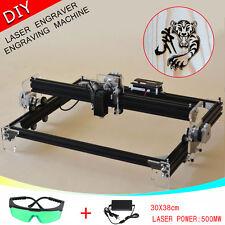 A3 30*38cm DIY Escritorio Mini Láser Grabado Corte Máquina Impresora Grabador