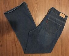 Women's Levi's 512 Perfectly Slimming Straight Blue Jean Size 10s 30x29