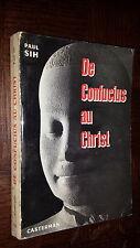 DE CONFUCIUS AU CHRIST - Paul Sih 1959