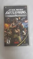 Star Wars Battlefront Renegade Squadron (PSP,  2007) Complete With Manual