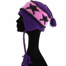 Borgogna FUMARE CAP Velluto Cappello con Centro Oro Nappa Nuovo XS S M L XL 3XL 4XL