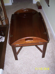 Vintage ETHAN ALLEN BUTLERS TRAY TABLE COFFEE TABLE 1972 11-2009-225 PLANT 18