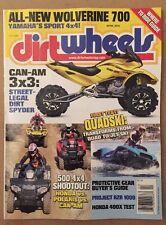 Dirt Wheels New Yamaha Wolverine Can-Am Quadski Test April 2015 FREE SHIPPING!