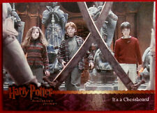 HARRY POTTER - SORCERER'S STONE - Card #077 - IT'S A CHESSBOARD - Artbox 2005