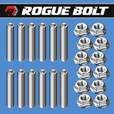 SBF VALVE COVER STUD KIT BOLTS STAINLESS STEEL KIT 289 302 351W SMALL BLOCK FORD