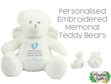 Personalised Baby Memorial Teddy Bear | Memorial Keepsake | Remembrance Gift