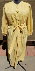 Day Wrapper or Work Dress Reproduction 1830-1870's Style Size Small New
