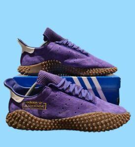 Mens Adidas Kamanda Deadstock Purple Suede UK Size 11.5 EU 46 US 12 - Worn Once