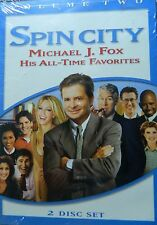 SPIN CITY VOLUME 2 Michael J. Fox's ALL TIME FAVORITES 11 Shows 2Disc Set SEALED