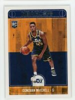 2017-18 Donovan Mitchell Panini Hoops Rookie RC #263