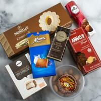 Gourmet Gift Basket of International Sweets