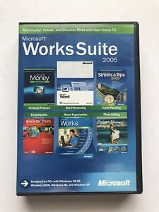 Microsoft Works Suite 2005 Tested