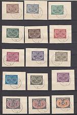Generalg., Nr. D 1-15 Briefstücke